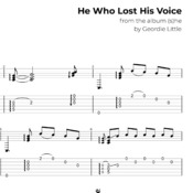 He Who Lost His Voice (Tab/Notation + mp3)