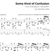 Some Kind of Confusion (Tab/Notation + mp3)