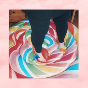 #13 Stomp2pop on Lollipop Inflate barefoot {05:51 min}