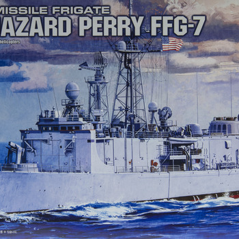 How to build Academy's FFG-7 USS Oliver Hazard Perry 1/350 scale model ship