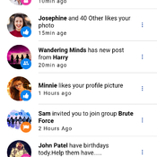 Ionic Facebook time app