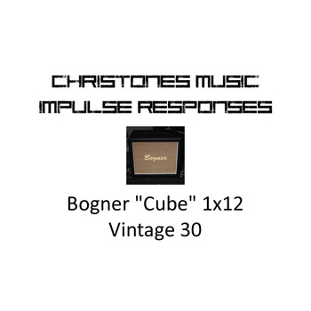 "Bogner ""Cube"" 1x12 with Vintage 30 Impulse Responses for Two Notes Gear (tur-format)"