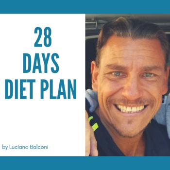 28 DAYS DIET PLAN (ITA version)