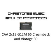 Custom Audio Amplifiers 2x12 with G12M65 Creamback and Vintage 30 Impulse Responses for Two Notes Gear (tur and wave files)