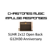 SUHR Open Back 2x12 G12H30 Anniversary Impulse Responses for Two Notes Gear (tur and wave files)