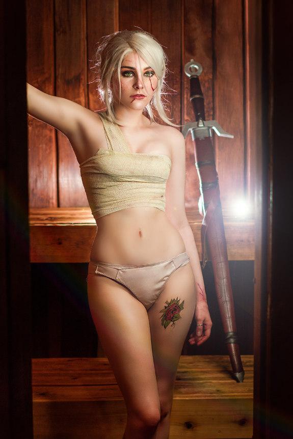 Bathhouse Ciri cosplay set - riannacare  Ciri photoset